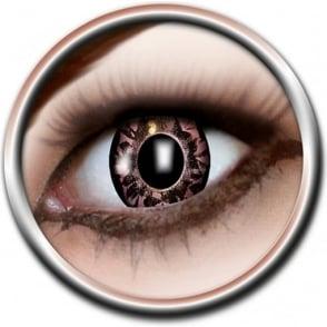Eye Catcher Tone Lenses - Three Tone - Black Burst (A74) - (Usage: 12 Months - 1 Pair)