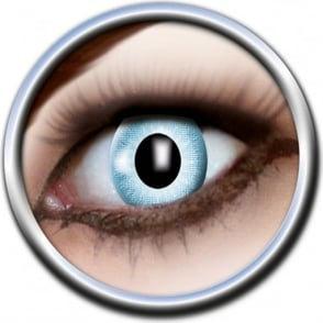 Eye Catcher Tone Lenses - One Tone - Dazzling Blue (A09) - (Usage: 12 Months - 1 Pair)