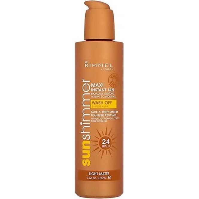 Rimmel 24hr Instant Tan for Body and Face - Light Matte 225ml