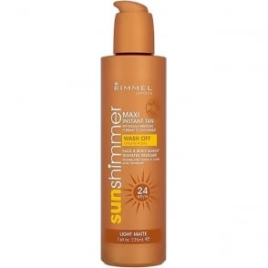 24hr Instant Tan for Body and Face - Light Matte 225ml