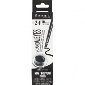 24HR Scandaleyes Waterproof Gel Eyeliner - 001 Black