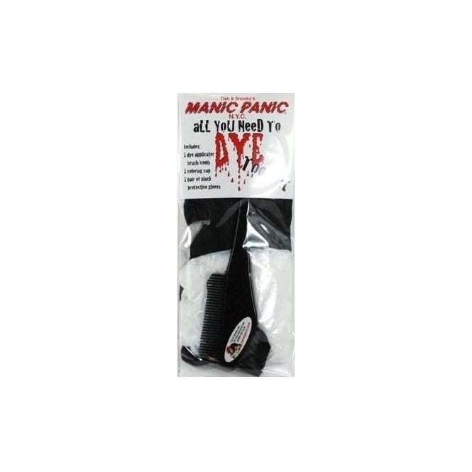 Manic Panic Hair Dye All You Need To Dye Tool Kit (black)