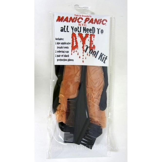 Manic Panic Hair Dye All You Need To Dye Tool Kit (brown)