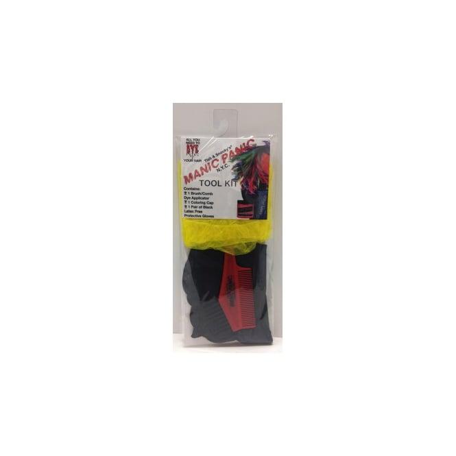 Manic Panic Hair Dye All You Need To Dye Tool Kit (yellow)