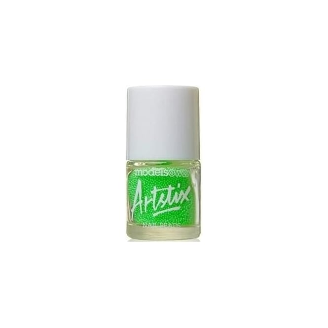 Models Own Artstix Nail Beads - Neon Green
