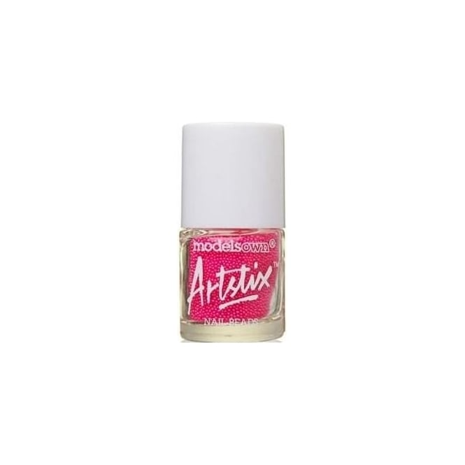 Models Own Artstix Nail Beads - Neon Pink