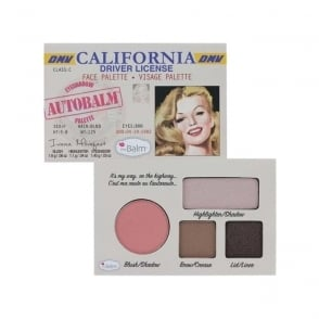 """Autobalm California """"Driver Licence"""" Face Palette 4-in-1"""