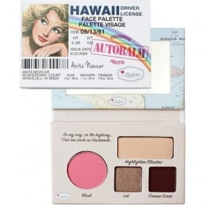 "Autobalm Hawaii ""Driver Licence"" Face Palette 4-in-1"