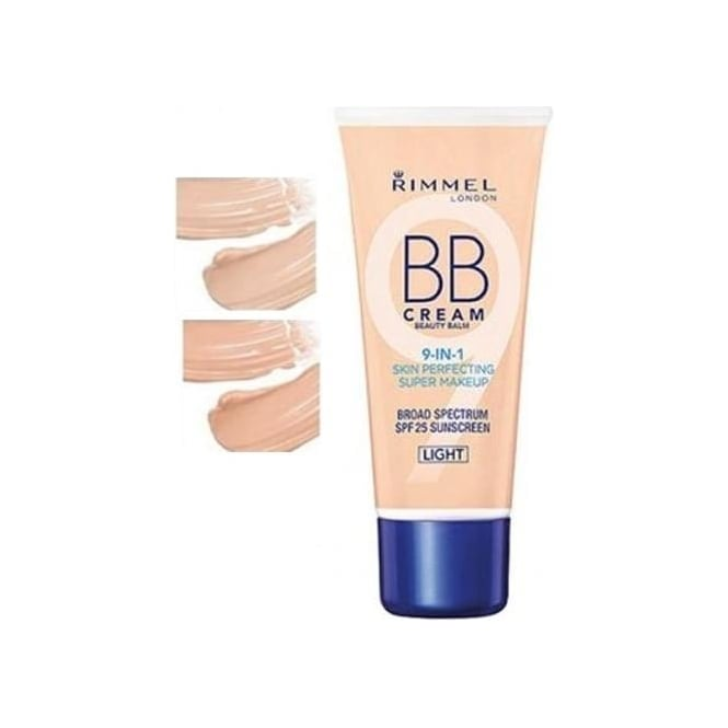 Rimmel BB Beauty Balm Cream 9-in-1 Skin Perfecting Super Makeup