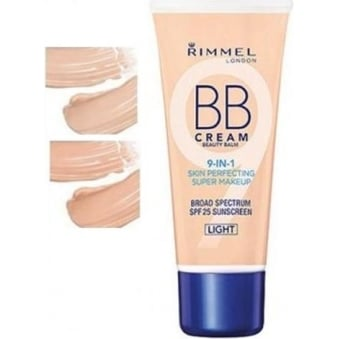 BB Beauty Balm Cream 9-in-1 Skin Perfecting Super Makeup