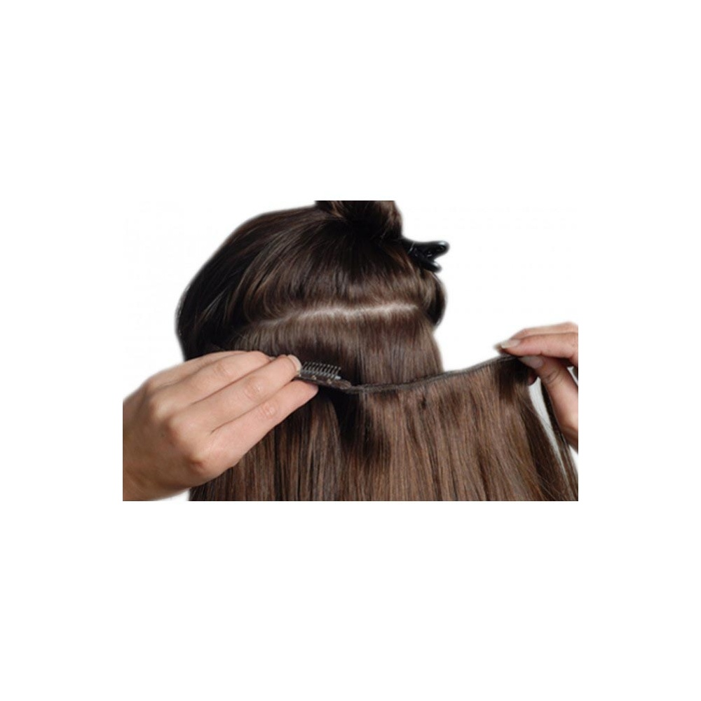 Beauty Works Clip In Quadruple Double Weft Remy Hair Extensions