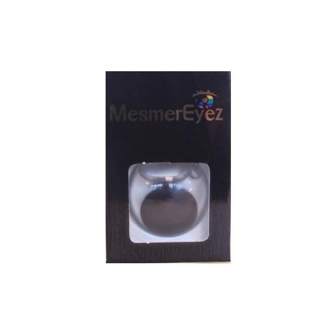 Mesmereyez - Hunt Or Dye Black Blind Contact Lenses - 1 Day / Use Fancy Dress Accessories - Blind Black