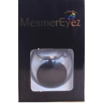 Black Blind Contact Lenses - 1 Day / Use Fancy Dress Accessories - Blind Black
