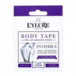 Body Tape - Pre-Cut Adhesive Strips x 27 Shaped Strips