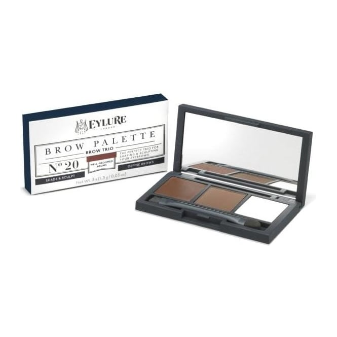 Eylure Brow Palette - Brow Sculpting and Shaping Trio 3x (1.3g/0.03 oz)