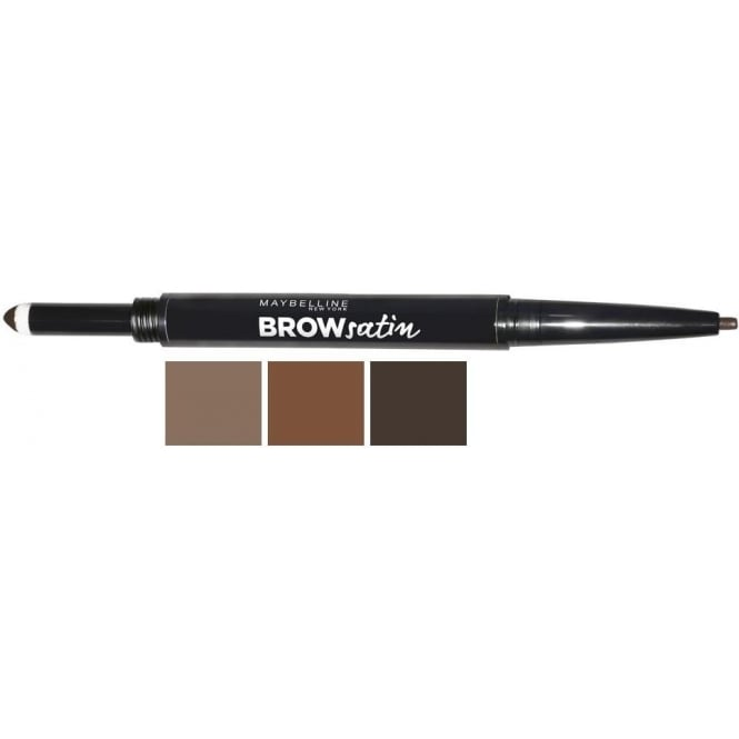 "Maybelline ""Brow Satin"" Smoothing Duo-Brow Pencil & Filling Powder"