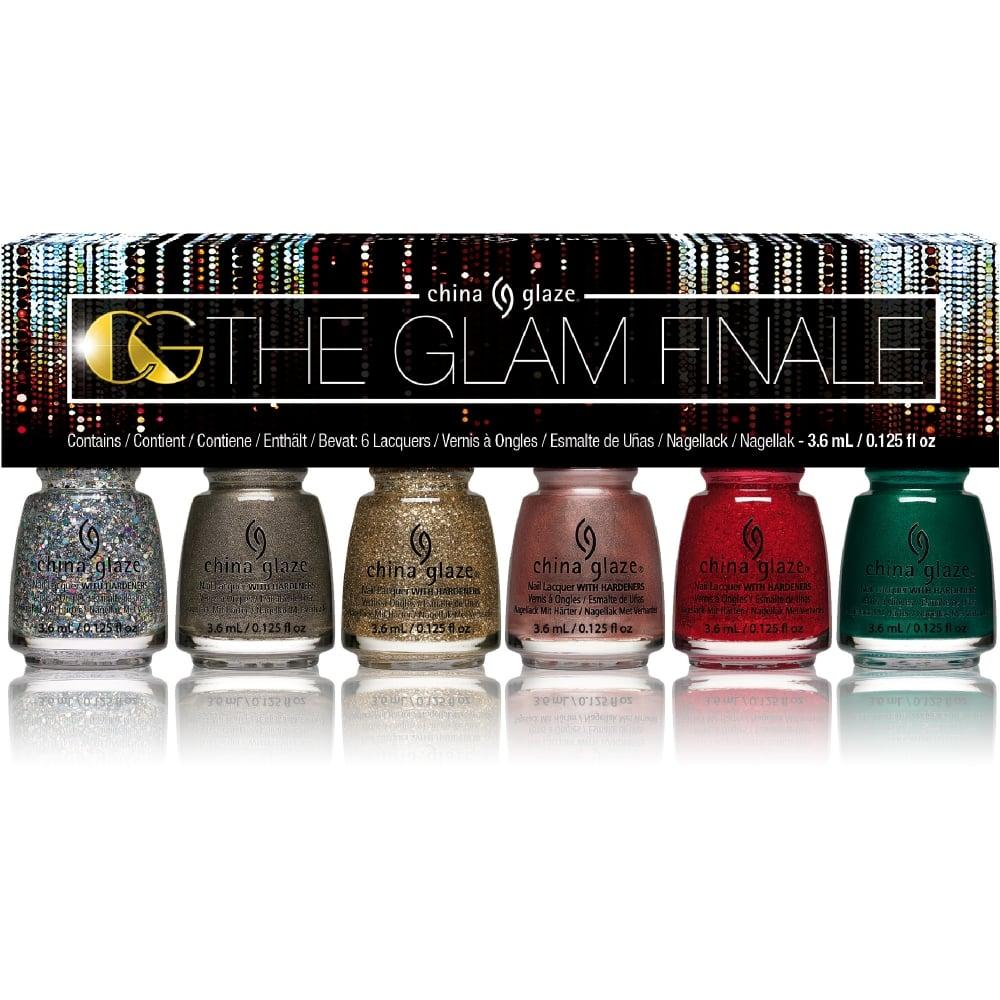 China Glaze The Glam Finale 2017 - 6 Piece Micro Mini Kit (84115)