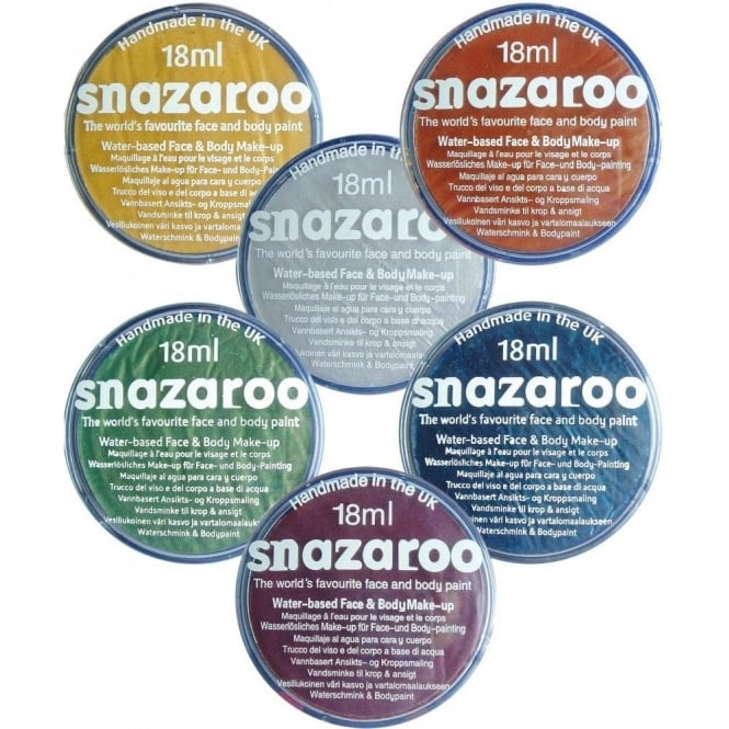 Snazaroo Classic Colours Face and Body Paint 18ml