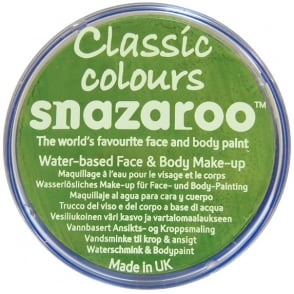 Classic Colours Water Based Face & Body Paint - Lime Green 18ml