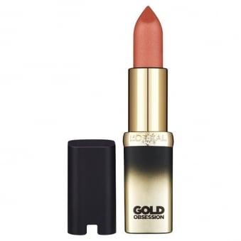 Color Riche Gold Obsession Lipstick - Nude Gold 5ml