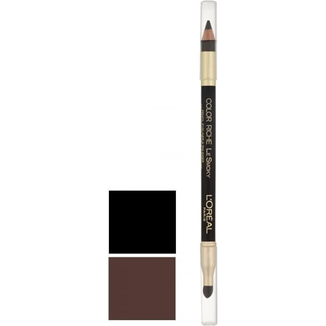 L'Oreal‎ Color Riche Le Smoky Pencil Eyeliner and Smudger