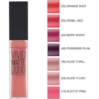 Color Sensational Vivid Matte Liquid Lipstick (8ml)