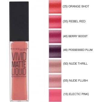 Color Sensational Vivid Matte Liquid Lipstick (8ml)