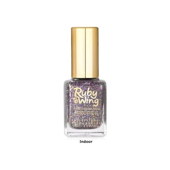 Ruby Wing Colour Changing Nail Polish - Festival 15ml