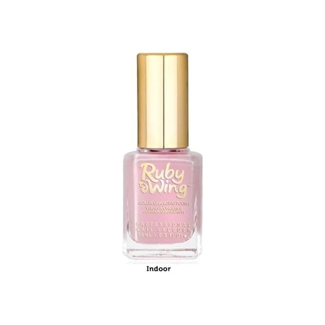 Ruby Wing Colour Changing Nail Polish - Sweet Rose 15ml