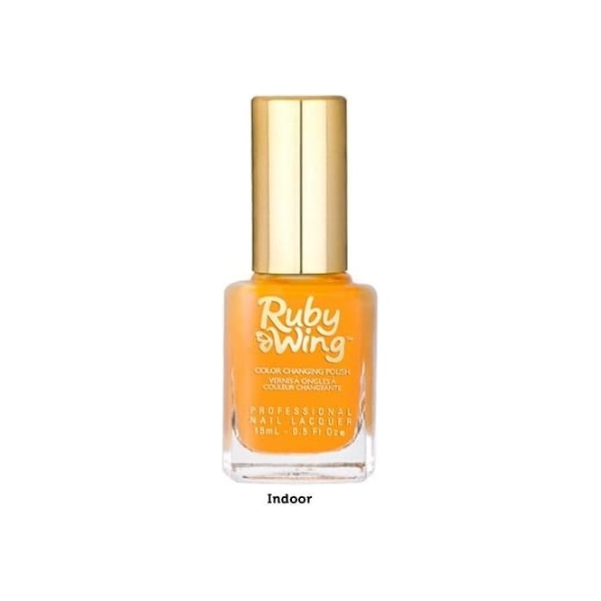 Ruby Wing Colour Changing Nail Polish - Wild Flower 15ml