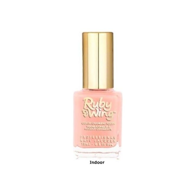 Ruby Wing Colour Changing Spring Garden Nail Polish Collection - Peony 15ml