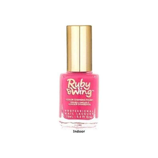 Ruby Wing Colour Changing Spring Garden Nail Polish Collection - Poppy 15ml