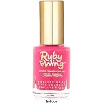 Colour Changing Spring Garden Nail Polish Collection - Poppy 15ml