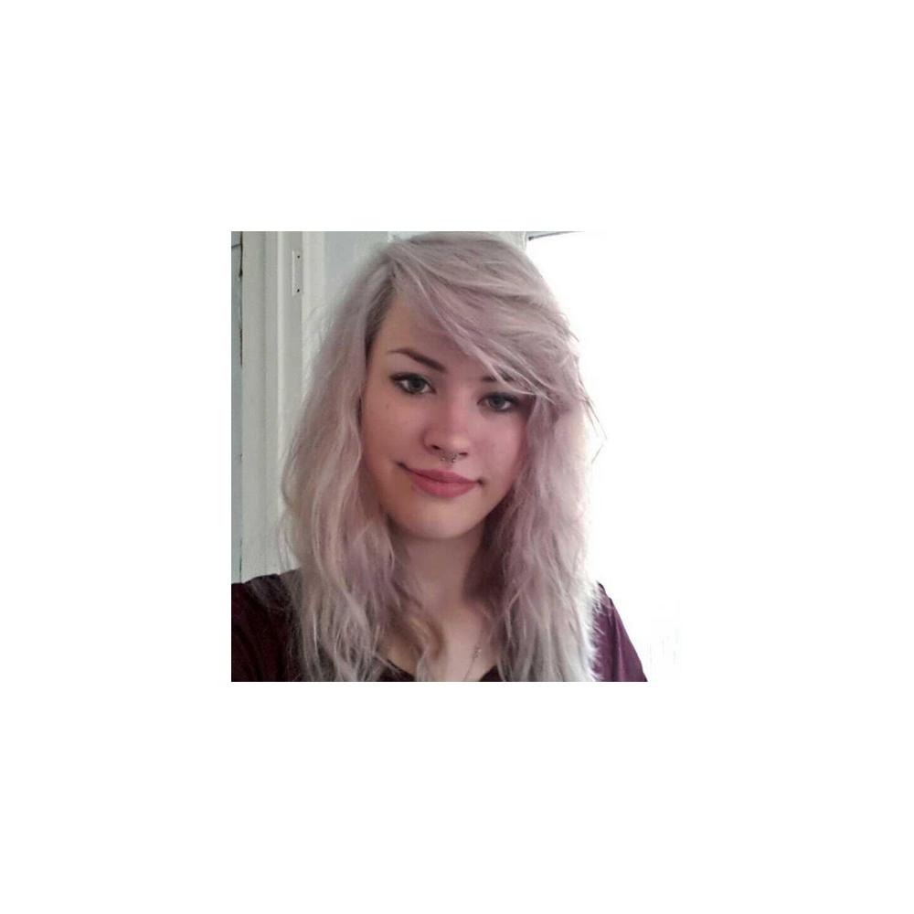 Renbow Crazy Colour Semi Permanent Hair Dye - Silver
