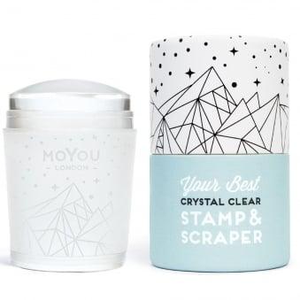 Crystal Clear - Stamper & Scraper