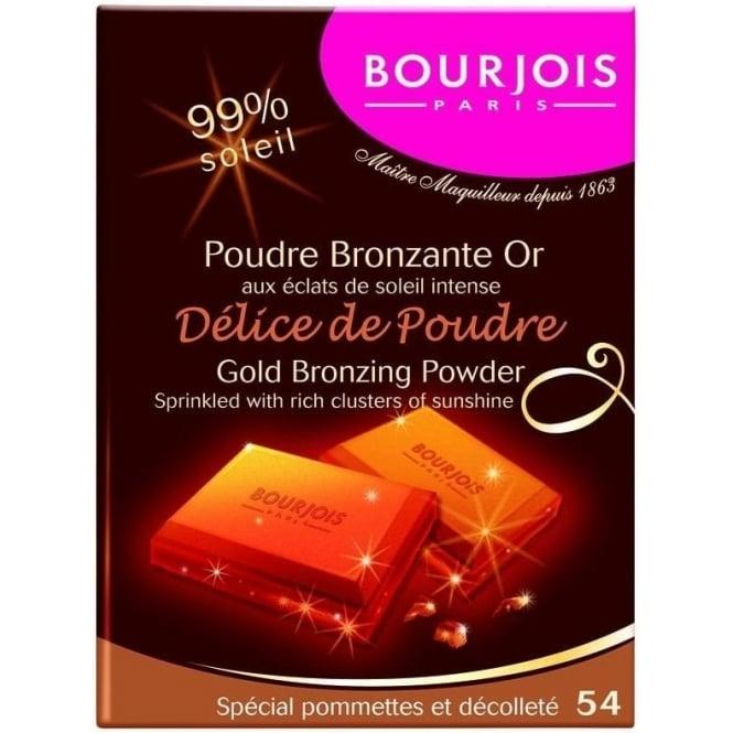 Bourjois Delice De Poudre Gold Bronzing Powder - 54