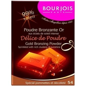 Delice De Poudre Gold Bronzing Powder - 54