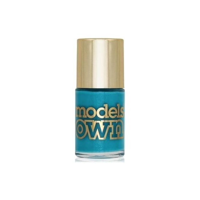 Models Own Diamond Luxe Nail Polish Collection 2014 - Asscher Blue 14ml