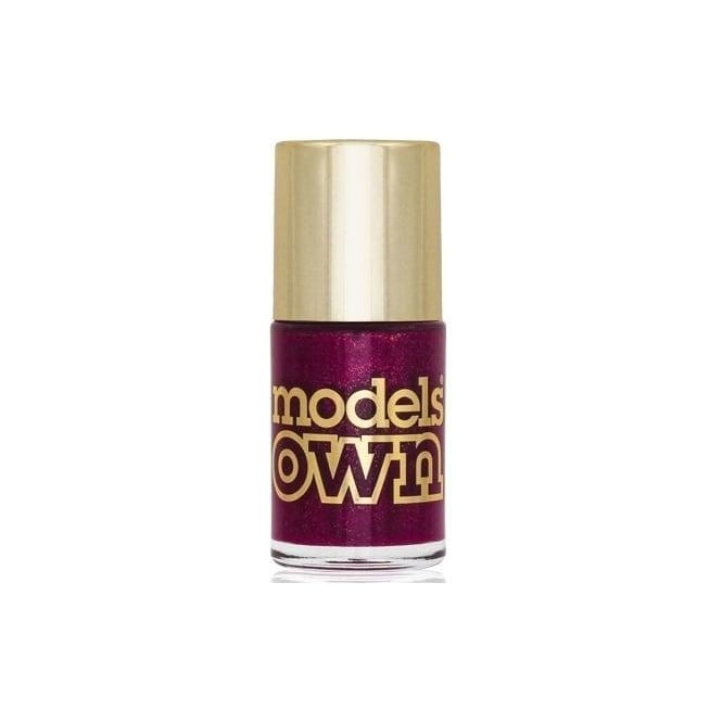 Models Own Diamond Luxe Nail Polish Collection 2014 - Oval Plum 14ml