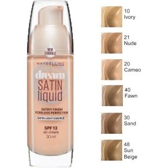 Dream Satin Air-Brush Perfection Liquid Foundation SPF13 30ml