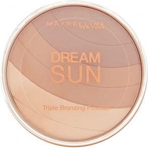 Dream Sun - Triple Bronzing Powder - 02 Brunette 16g