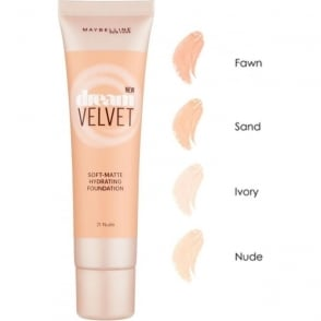 Dream Velvet Soft Matte Hydrating Foundation (30ml)