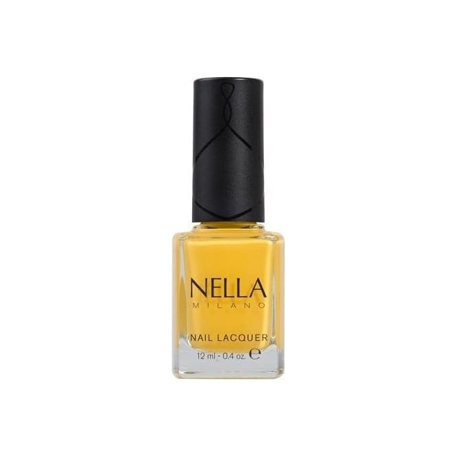 Nella Milano Effortlessly Stylish Nail Polish - Lemon Sherbert 12ml (NM17)