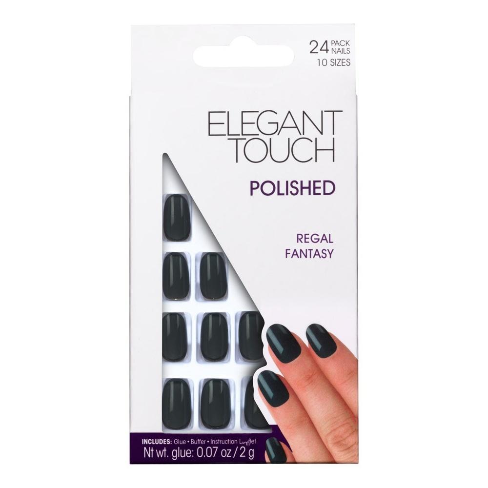 Elegant Touch False Oval Nails - Regal Fantasy Free UK Delivery