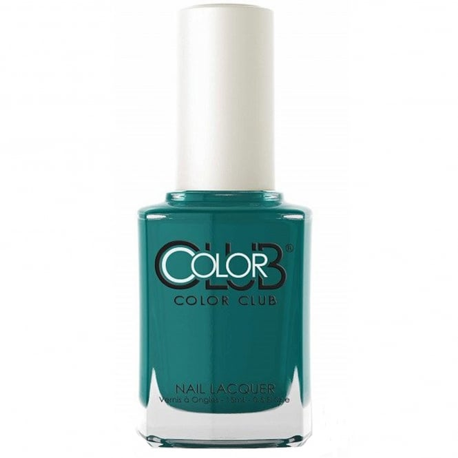 Color Club English Garden Nail Polish Collection- Teal For Two (05A1109) 15ML