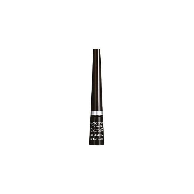 Rimmel Exaggerate Eye Liner Pots - 001 100% Black