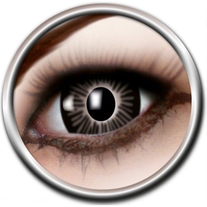 Eye Catcher Big Eye Lenses - Black (B03) - (Usage: 3 Months - 1 Pair)