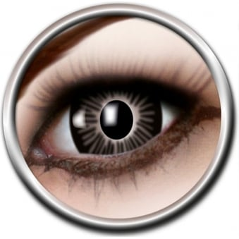 Big Eye Lenses - Black (B03) - (Usage: 3 Months - 1 Pair)