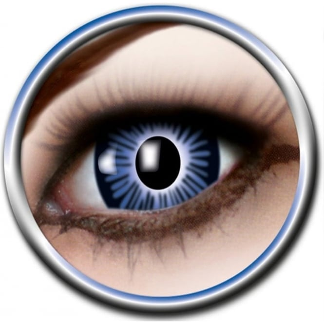 Eye Catcher Big Eye Lenses - Blue (B02) - (Usage: 3 Months - 1 Pair)