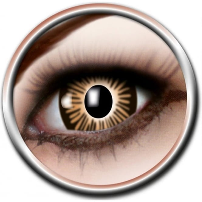 Eye Catcher Big Eye Lenses - Brown (B05) - (Usage: 3 Months - 1 Pair)